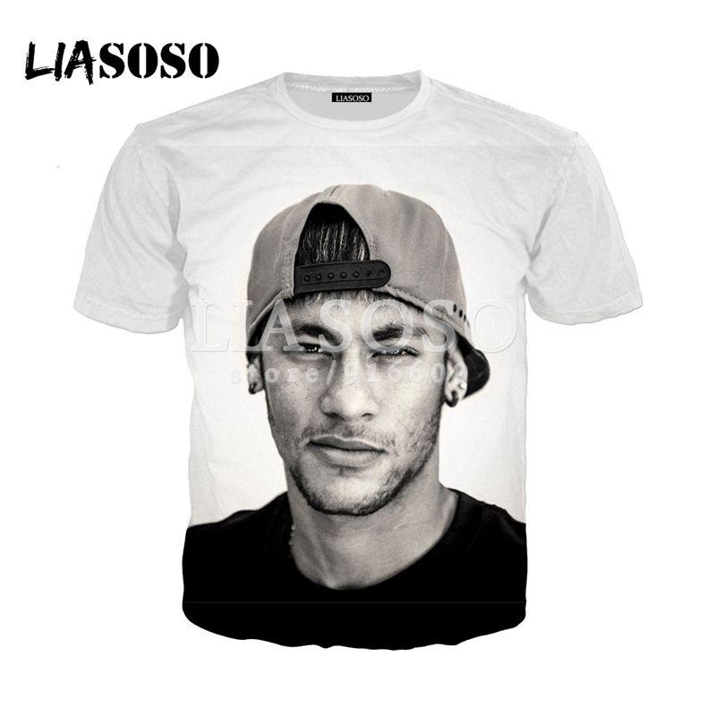 Compre LIO NUEVO Brasil Neymar JR Camisas Guapas De Agradecimiento 3D  Imprimir Camiseta   Sudadera   Sudadera Hipster Camiseta Unisex Tops G2156  A  37.89 ... 9a6d017cec215