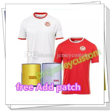49eeab9cc 2019 Tunisia Soccer Jersey 2018 World Cup Home Away 2019 Tunisia Wahbi  Khazri Khaoui Sliti Football Shirts Customize Top Thanland Quality From  Jerseycustom