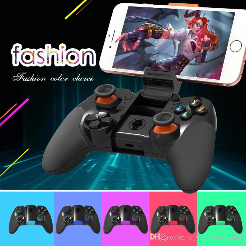 Hot RK Game 4th Bluetooth Gamepad Wireless 4.0 Joystick Dual Mode Support for IOS/For Android Game Controller Joypad