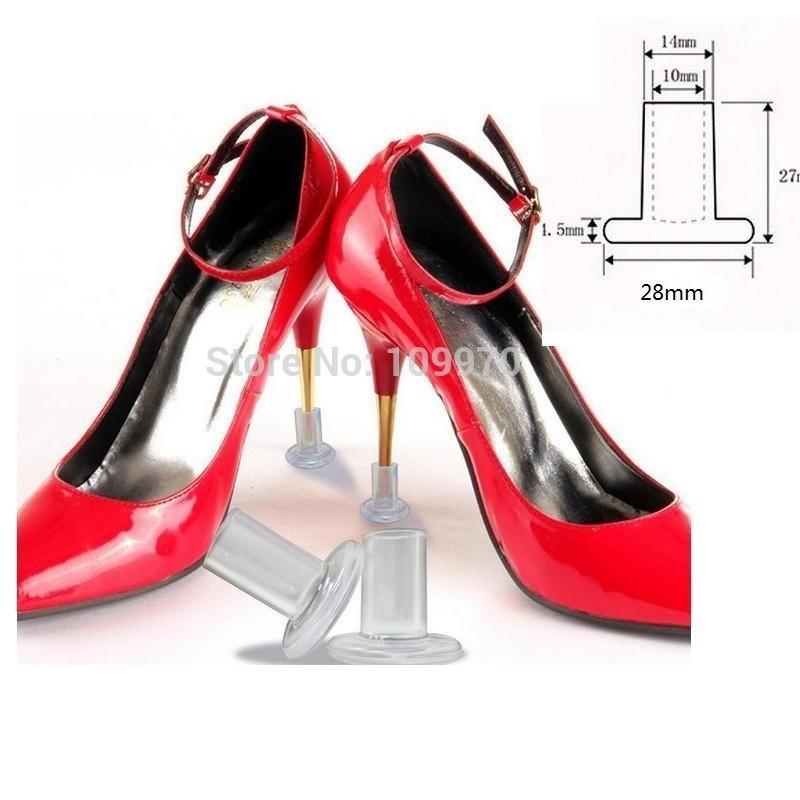 Scarpe da donna Tacco alto protettore Tappi scarpe da ballo da sposa