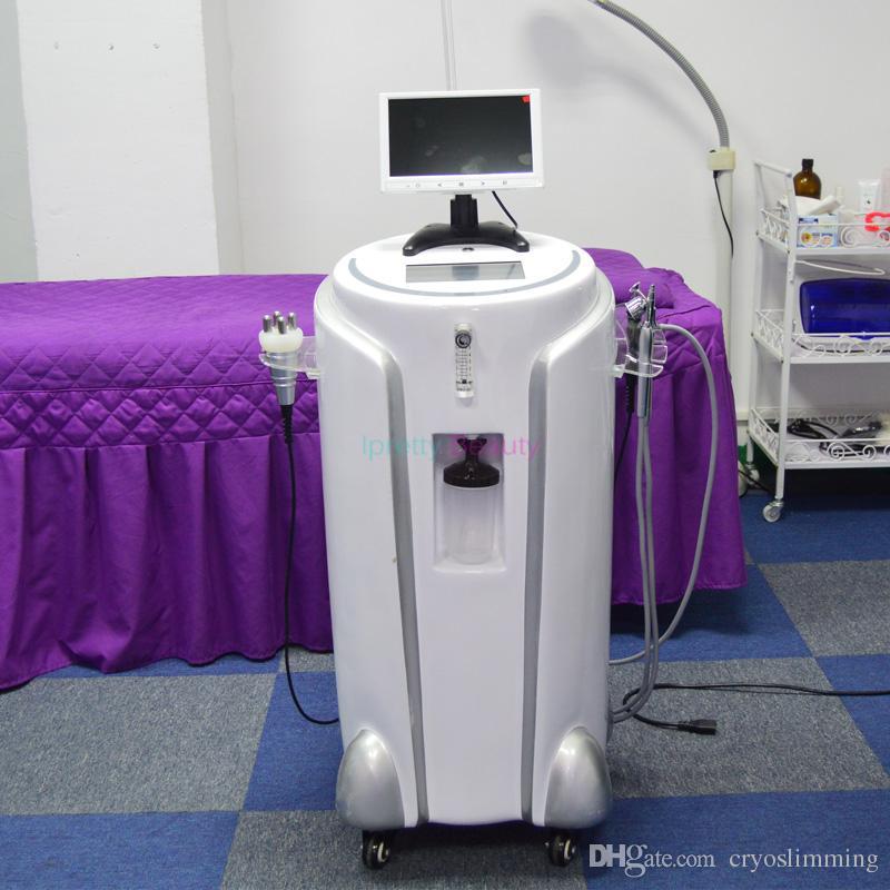 8 في 1 متعددة الوظائف Intraceuticals الأوكسجين الأوكسجين حقن الوجه آلة الرش مع BIO الجلد آلة تحليل محلل الجمال