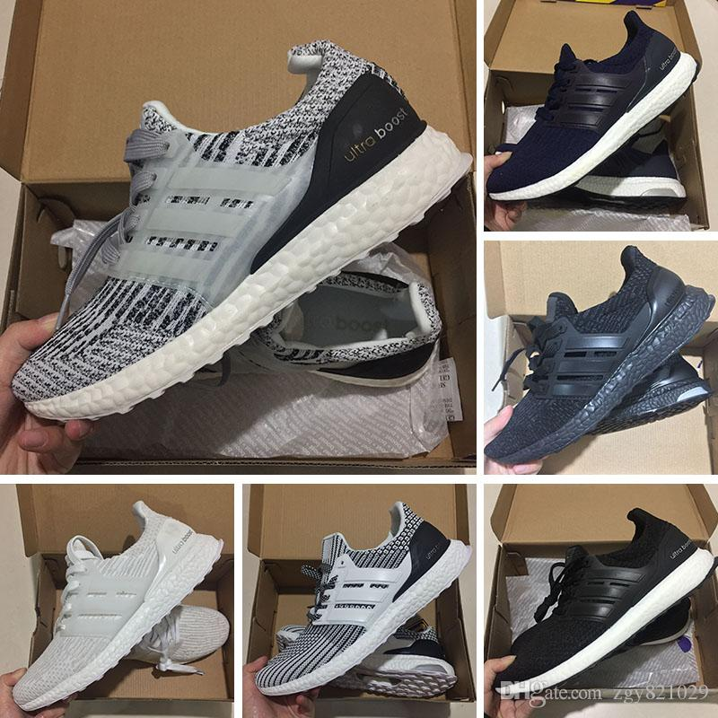 Compre Alta Calidad Adidas Originals UltraBoost 3.0 Ltd W 4.0 Zapatillas De  Deporte X Ultra Boost Zapatos Sin Cordones Para Correr Hombres Mujeres Ultra  ... f9a17e2ecf3df