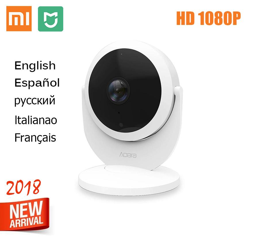 XiXiaomi Mijia Aqara Smart Network Camera with Gateway Hub Function 1080P  Linkage Alarm FOV Smart Home Voice Interphone IP cam