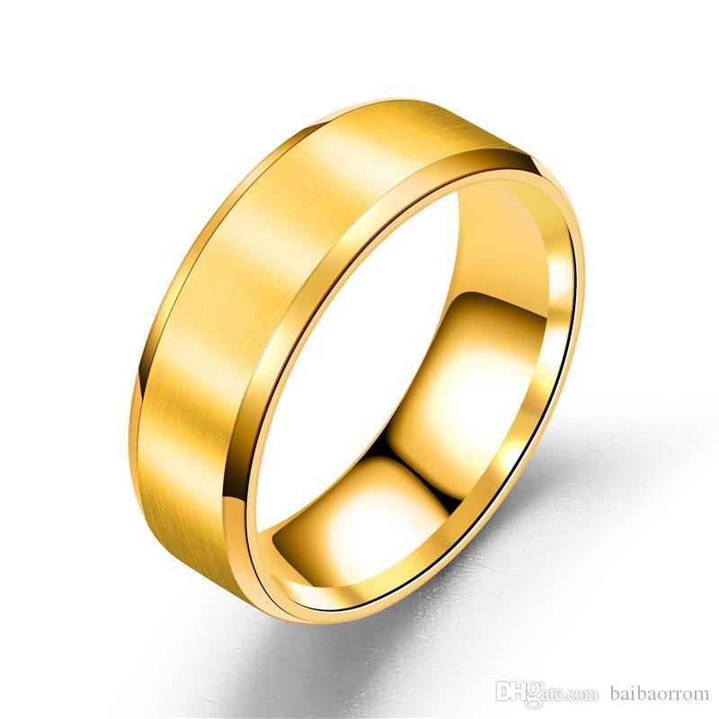 Acheter Bague Hommes Titanium Noir Bague Mariage Argent 50 De Réduction Anneaux De Mariage Pour Les Femmes Hommes Bague Bijoux De 046 Du