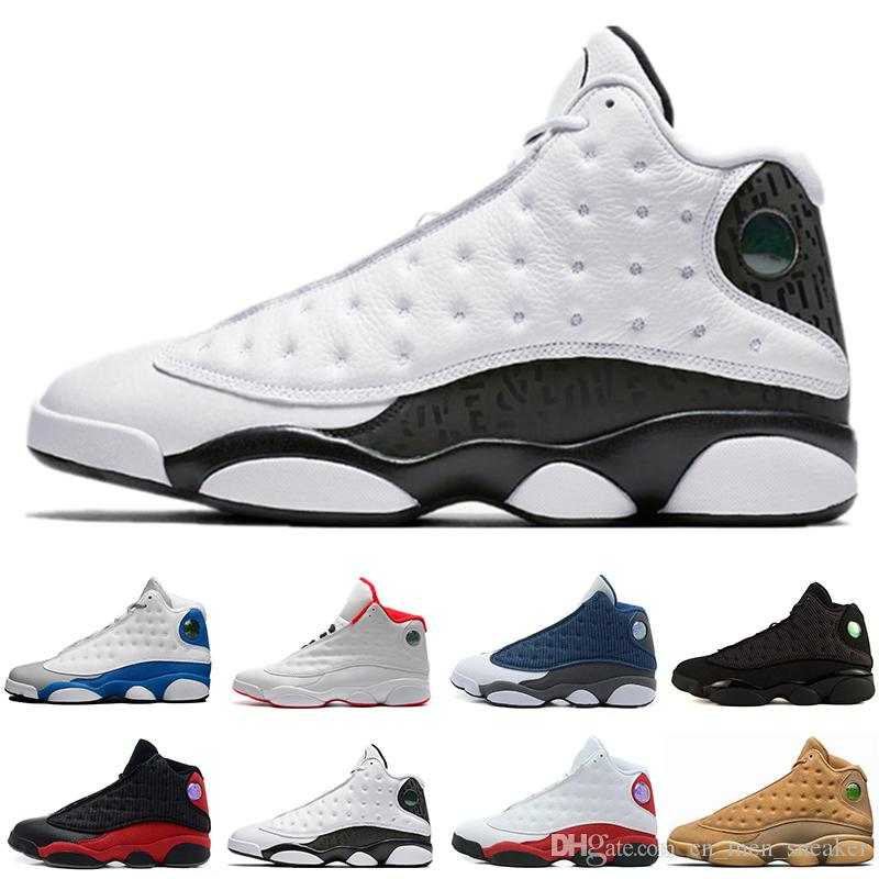 Hyper Royal 13s Mens Basketball Shoes Olive Sneakers White blue Black Cat Alititude Green basket ball Trainer 13 Sports footwear