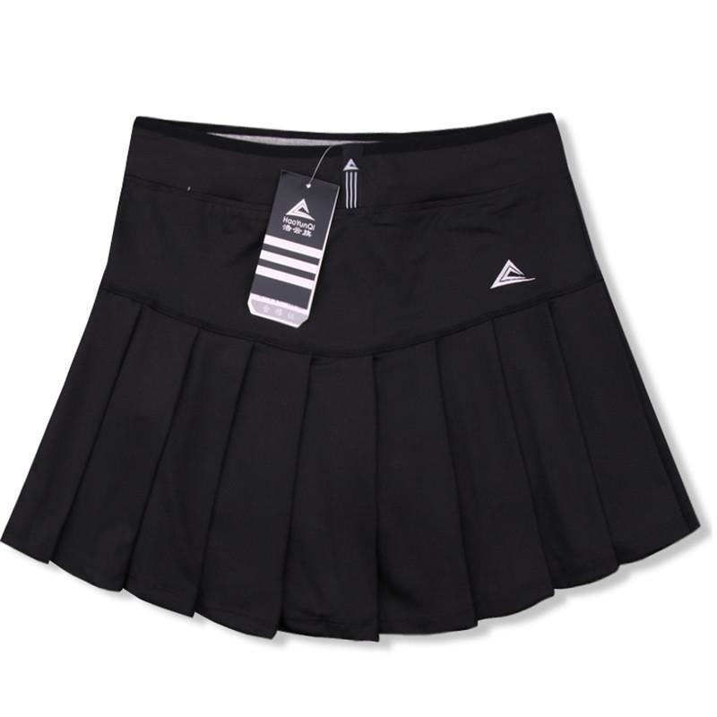59b97075e70fed New Women Skort Quick Dry Sport Badminton Pantskirt Wear Skirt Pleated  Pants Pocket Tennis Skirt