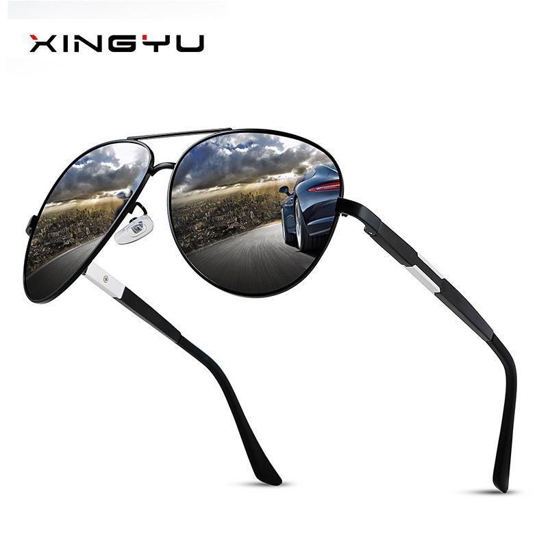1f71b4d187 XINGYU 2019 Brand Designer Aviation Sunglasses Polarized Men Driving Round Sun  Glasses Women Oculos Lentes De Sol Mujer UV400 Locs Sunglasses Suncloud ...