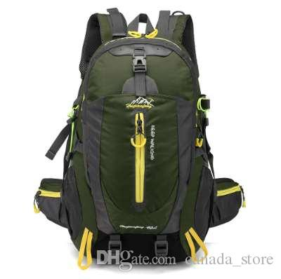 d4285233f030 40L Men Women Climbing Bag Outdoor Fishing Bags Waterproof Travel Trekking  Backpack Hiking Camping Rucksack Tactical Hiking Bag Men Gift Outdoor Bag  Online ...