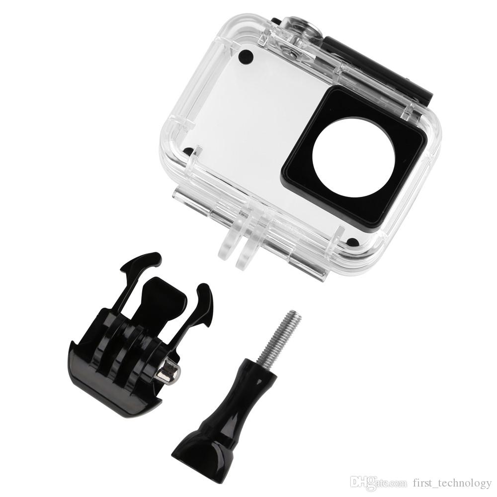 Top 45M Diving Waterproof Case for Xiaomi Yi 4K 4K+ yi Lite Action Camara Protective Housing Case For Yi 4K Camera Accessories
