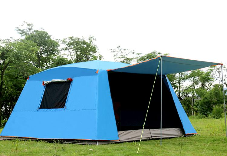 dac7ca2f12 Grntamn 5 8 Person Instant Cabin Tent Outdoor Waterproof Transparent Family  Camping Tent For Party With Mosquito Net Hiking Tent Tent Reviews From ...