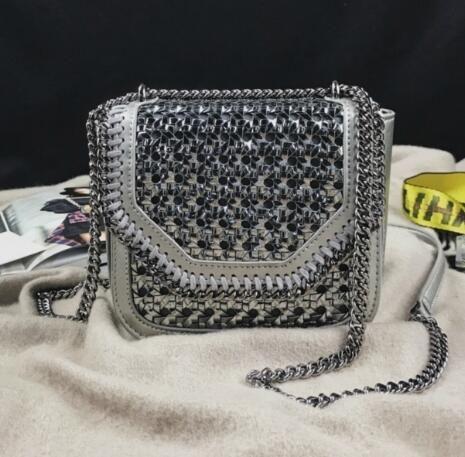 NEW STELLA MCCARTNEY FALABELLA BOX WICKER CROSSBODY BAG 2 Hobo HANDBAGS TOP  HANDLES BOSTON CROSS BODY MESSENGER SHOULDER BAGS Women Handbags Cheap  Designer ... 3853b583533bb