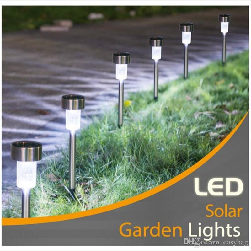 Lights & Lighting 2019 Solar Led Outdoor Path Light Spot Lamp Yard Garden Lawn Landscape Waterproof Night Light Garden Home Staircase Decoration Consumers First Led Lamps