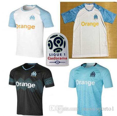 Maillot Extérieur Olympique de Marseille rabais