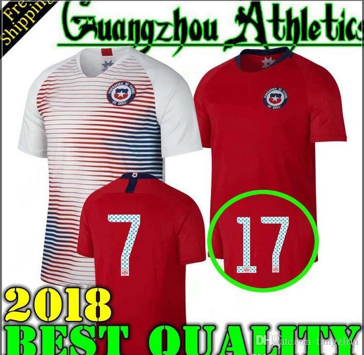... ireland 2018 world cup home away jersey 18 19 chile soccer jerseys  sanchez alexis vidal medel 5e0fa61c9