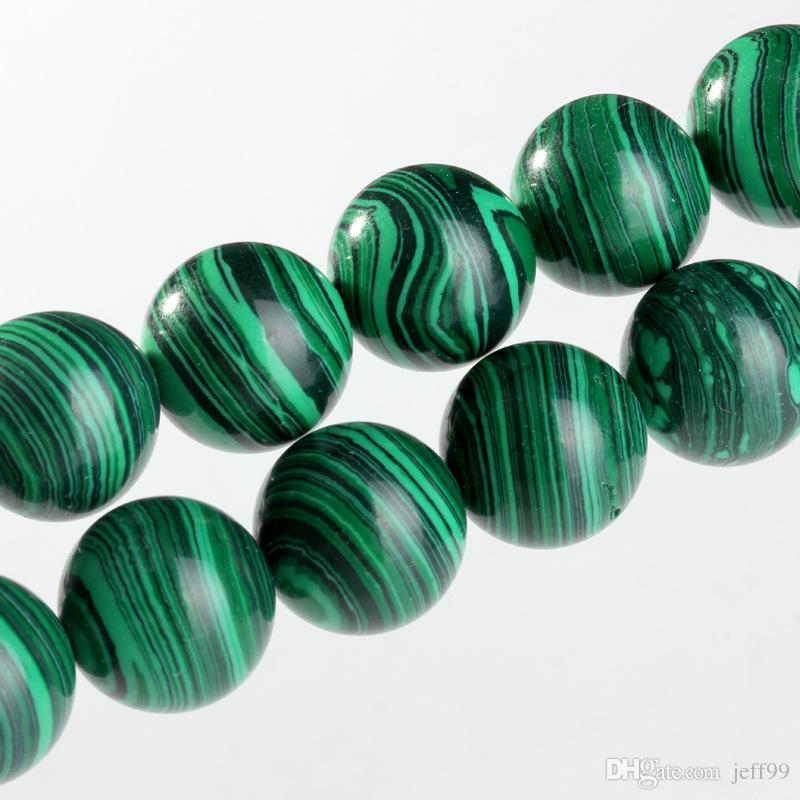 Malachite scattered beads semi - finished crystal wholesale beaded material crystal beads DIY jewelry accessories wholesale