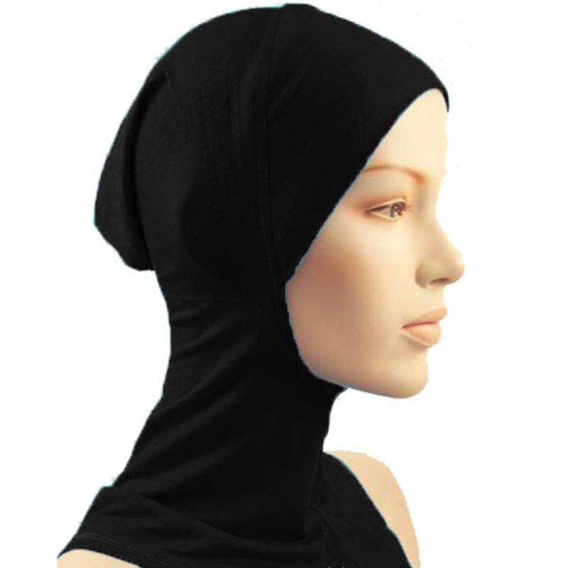 2019 New Under Scarf Hat Cap Bone Bonnet Hijab Islamic Head Wear Neck Cover  Muslim From Hongyeli 625716f4d114