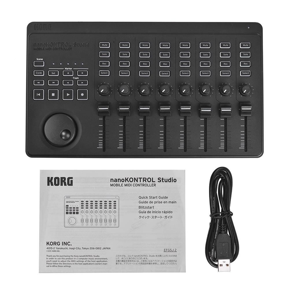 Korg nano kontrol studio midi controller at gear4music.