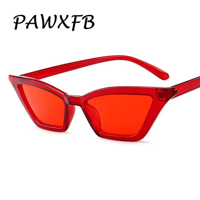 1ffc4497915b Pop Age 2018 New Red Lens Cat Eye Sunglasses Women High Quality Small Frames  Ladies Sun Glasses Fashion Lentes De Sol Shades Tifosi Sunglasses Cheap ...