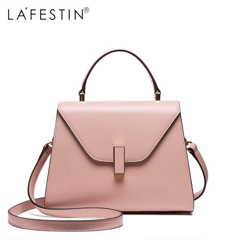 97d3646b15e2 LAFESTIN Women Handbag Versatile Genuine Leather Shoulder Bag Designer  Luxury Multifunction Brands Crossbody Bag Bolsa Leather Bags Designer Purses  From ...