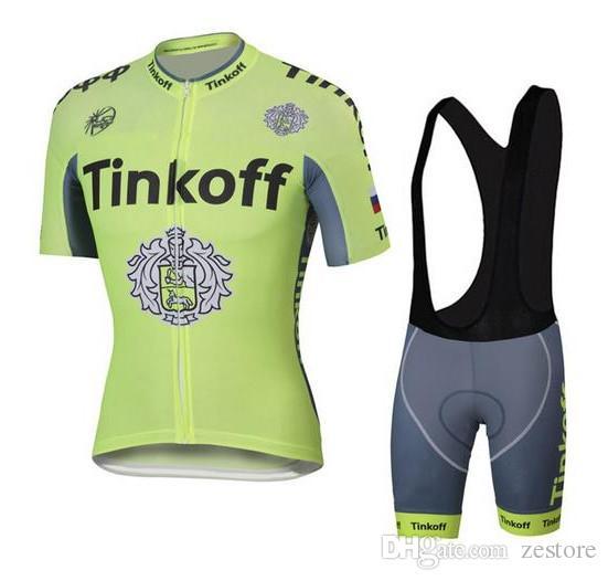 e72a99da82fb New Tour De France Cycling Jerseys Tinkoff Saxo Bank Bike Wear Short ...