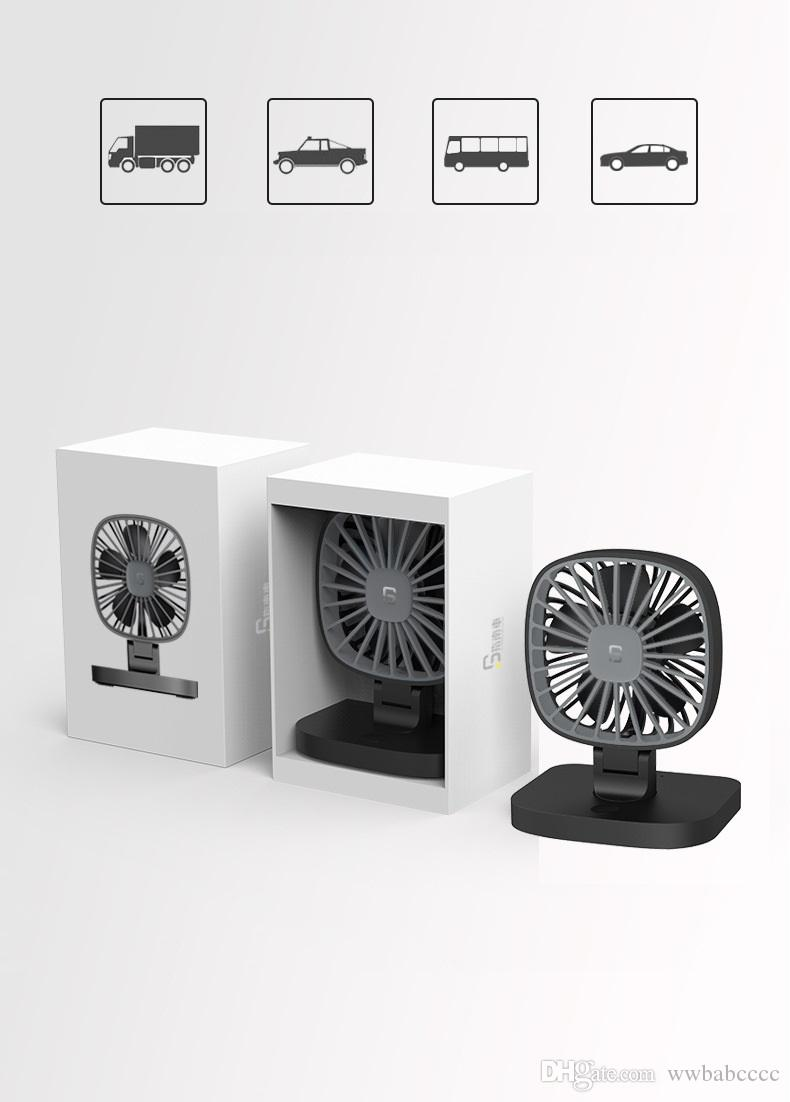2018 summer Car USB fan, DC5V USB Powerful and quiet fan for general models,Cold wind for you, cool summer.