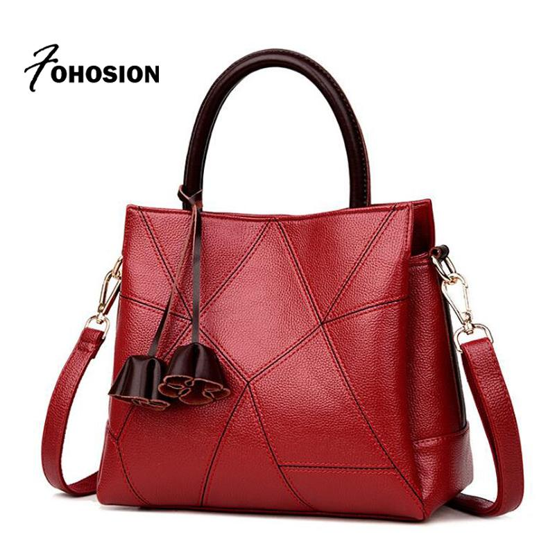 e140a75aac Luxury Woman Bag Genuine Leather Ladies Handbag Famous Brands Designer Lady  Tote High Quality Female Messenger Shoulder Bags New Laptop Bags Leather ...