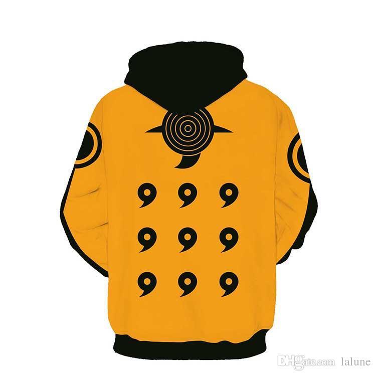 new 3D Hoodie Naruto clothing anime men women Hoodies Sweatshirts 3d hoodie Sweatshirt for men plus size 5XL Drop shipping
