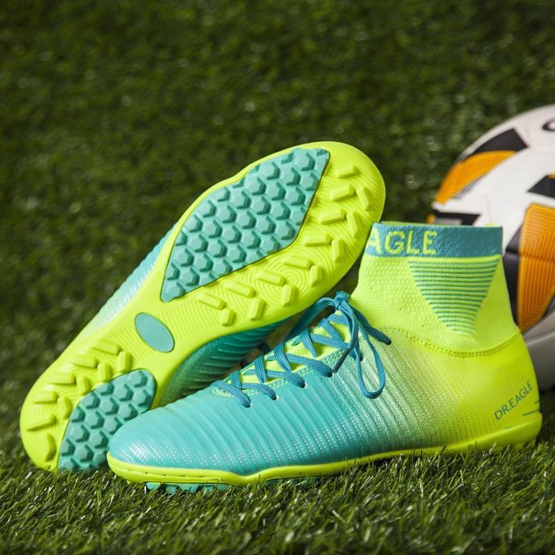 EAGLE Cuello Alto   Tobillo De Fútbol Botines De Fútbol Zapatos De Fútbol  Calcetín De Fútbol Sala Con Zapatos De Fútbol Balones De Interior  Zapatillas De ... dc5408dd4b514