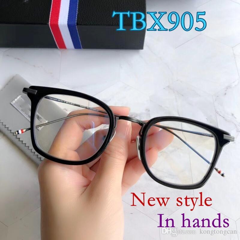Compre Vintage Retro Thom TBX905 Óculos Importar Quadro De Acetato Quadrado  Das Mulheres Homem Marca Design Caixa Original Caixa De Prescrição Lens  Frete ... e0d0073518