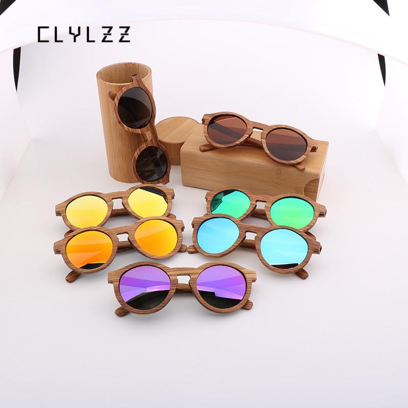 a464359e90d CLYLZZ Bamboo Wood Sunglasses For Men   Women Vintage Polarized Lenses  Frame Cat Eye Eyeglasse Design Shades UV400 Protection Wholesale Sunglasses  Cool ...