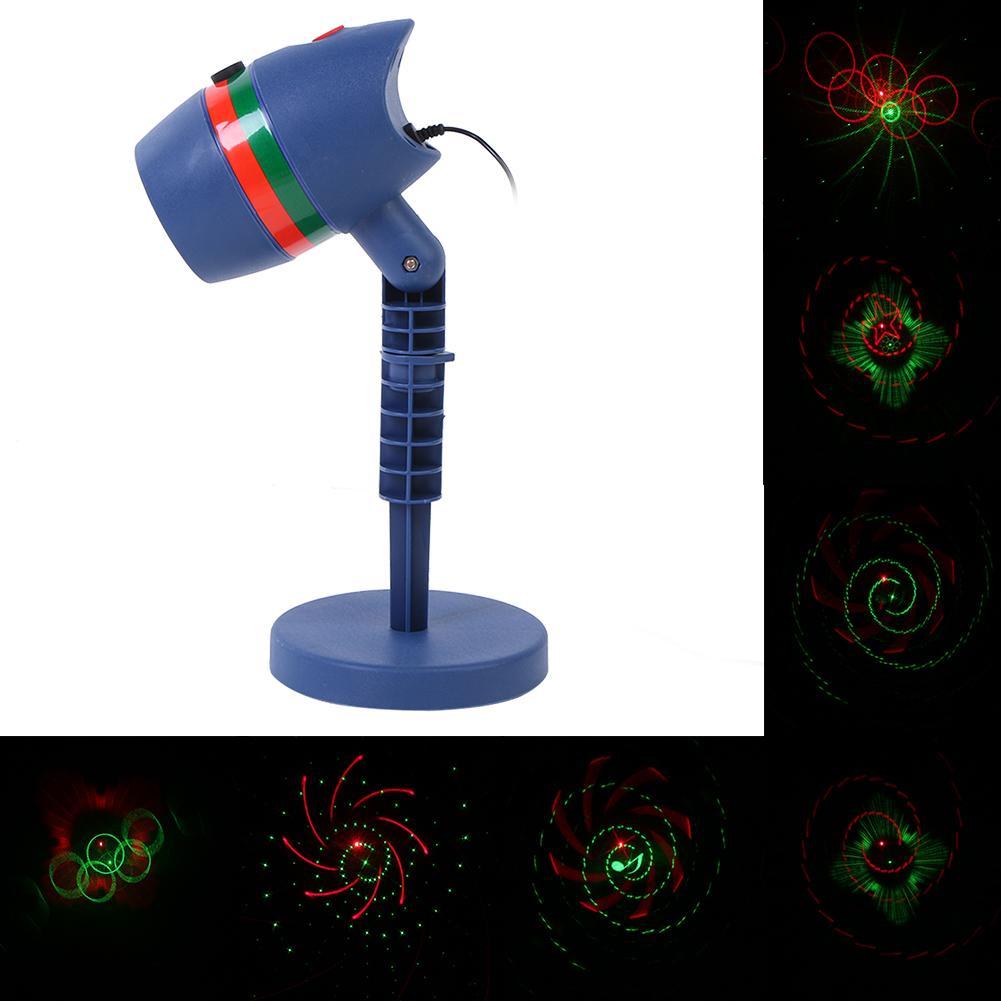 Großhandel Weihnachten Laser Projektor Navidad Rot Grün Duschen ...