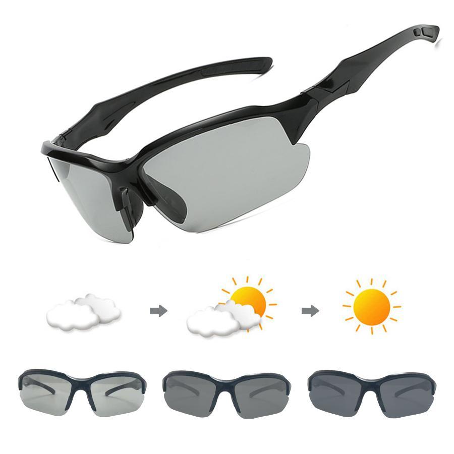 f6b0592009 Gafas De Sol Fotocromáticas Gafas De Bicicleta Polarizadas Para Hombres  Mujeres Gafas De Conducción UV400 MTB Bicicleta De Carretera Gafas  Deportivas 2018 ...