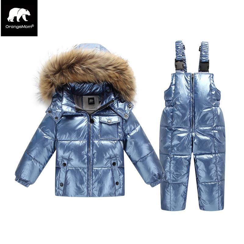 49431b78e New 2019 Orangemom Winter Jacket For Girls Boys Coats   Outerwear ...