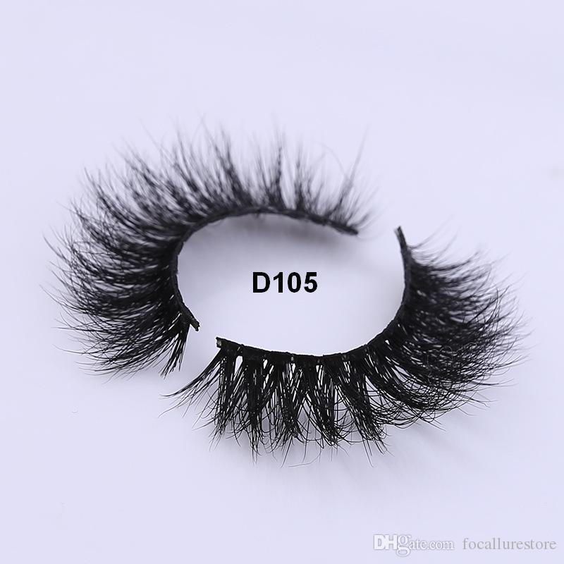 100 Handmade Genuine 3d Eyelashes Blister Makeup Thick False