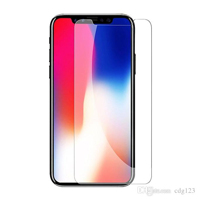 0742257523b For IPhone XS Max XR Tempered Glass IPhone X 8 8 Plus Screen Protector  Iphone 6 6S 7 7Plus 5 5S SE Film For Samsung Galaxy S7 S6 Tempered Glass  Protector ...
