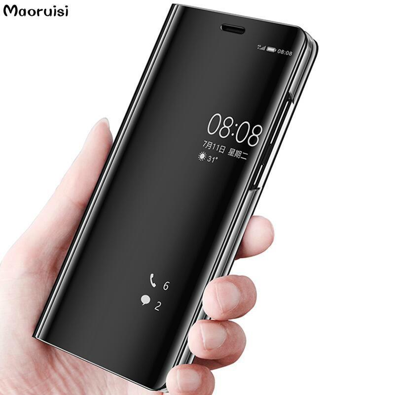 96792c0ed73 Accesorios Celulares Funda Para Samsung Note 8 5 J3 J5 J6 J7 2017 2018  Prime Funda Con Tapa Samsung Galaxy S9 S8 Plus S7 Edge Espejo Con Visión  Clara ...
