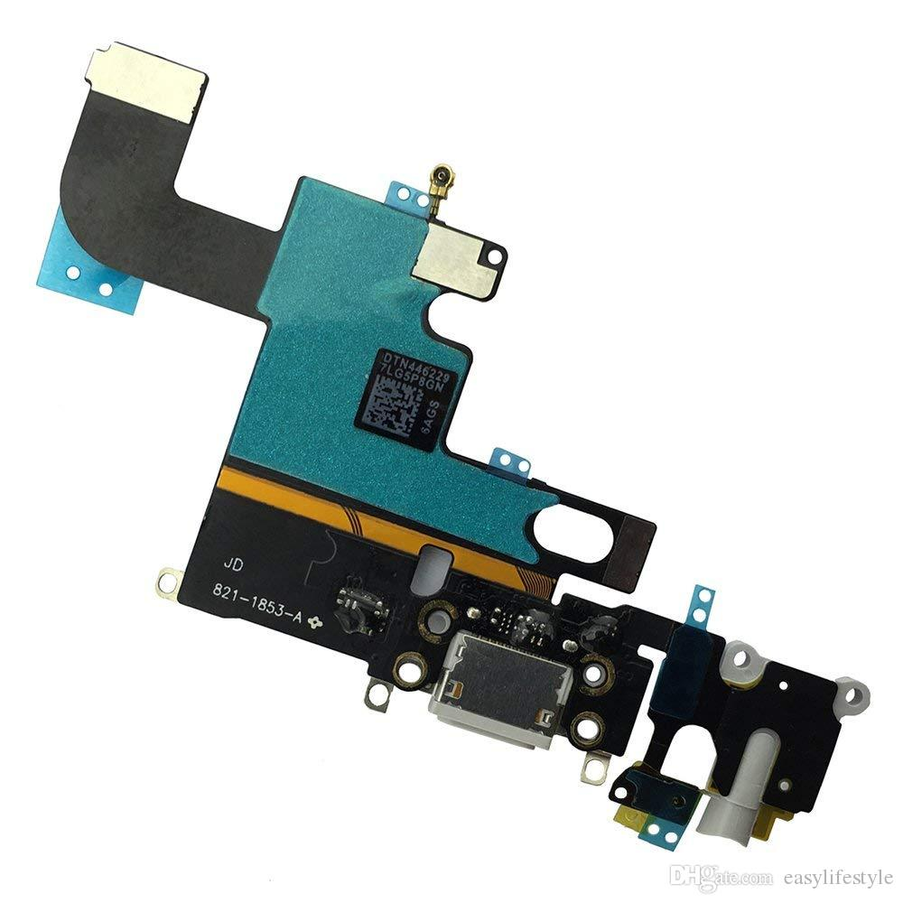 good quality Dock Connector USB Charging Port Flex cable Ribbon Replacement  for iPhone 6 6 plus