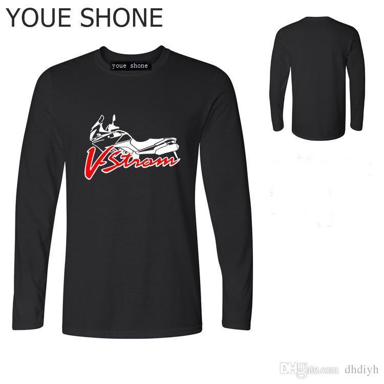 Uomo Lunga Strom Acquista 650 Dl T Suzuki Shirt Manica V QCsrdhtx