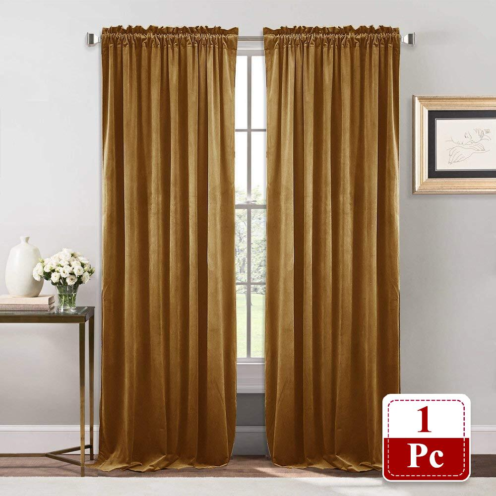 Superbe 2018 Nicetown Gold Velvet Curtains And Drapes For Bedroom Curtains For  Holiday Season Home Decoration ,Customer Size From Zhexie, $53.6 |  Dhgate.Com
