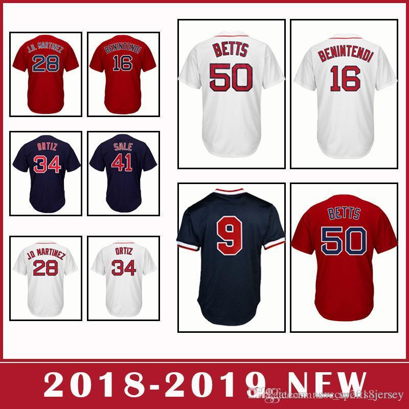 Boston Red Sox 50 Mookie Betts 28 JD Martinez 16 Andrew Benintendi ... eb6e9f1aa