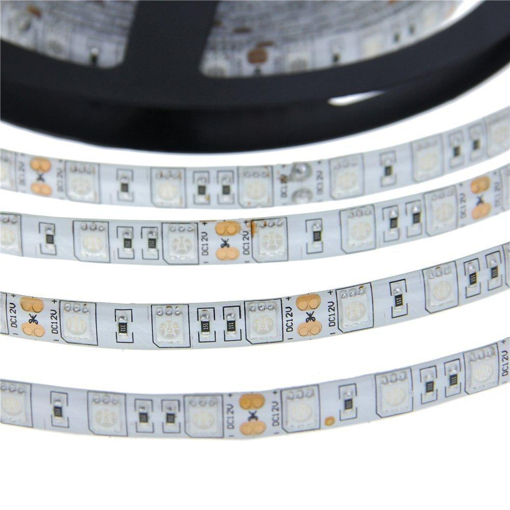 5mWaterproof LED Strip UV Ultraviolet purple/Pink DC12V 5050 300led Flexible LED Light