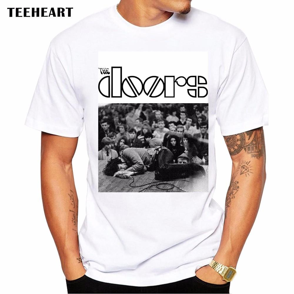New Summer The Doors T Shirts Men Modal Short Sleeve O Neck Letter Printed Man Rock T Shirt Fashion Jim Morrison Male Tops Tees Shirt And Tshirt Create Your ...  sc 1 st  DHgate.com & New Summer The Doors T Shirts Men Modal Short Sleeve O Neck Letter ...