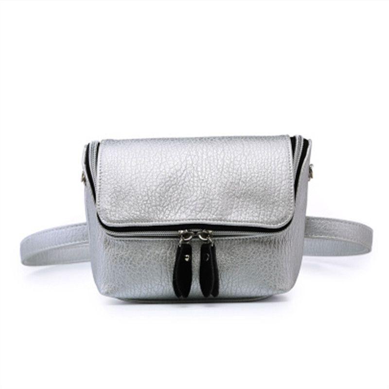 8138425ecfc63 Fashion Fanny Pack Women Waist Bag Belt Bag Women Leather Pouch ...