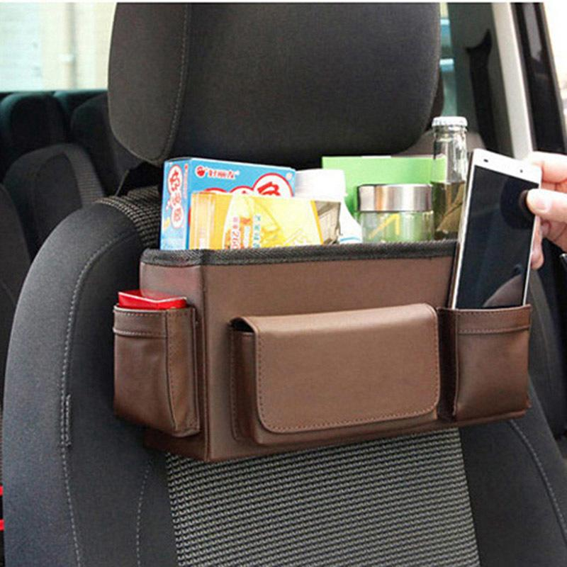2018 Auto Car Back Seat Organizer Multi Pockets Storage Bag Hanging Travel Pouch Organization From Stunning88 3598