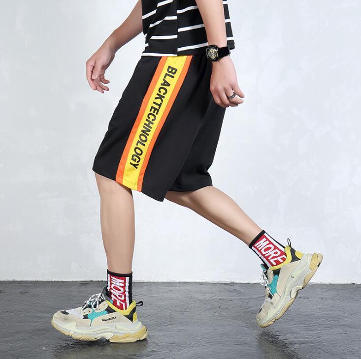 aeae15c08dc Mens Designer Shorts Summer Hip Hop Street Style Jogging Letter ...