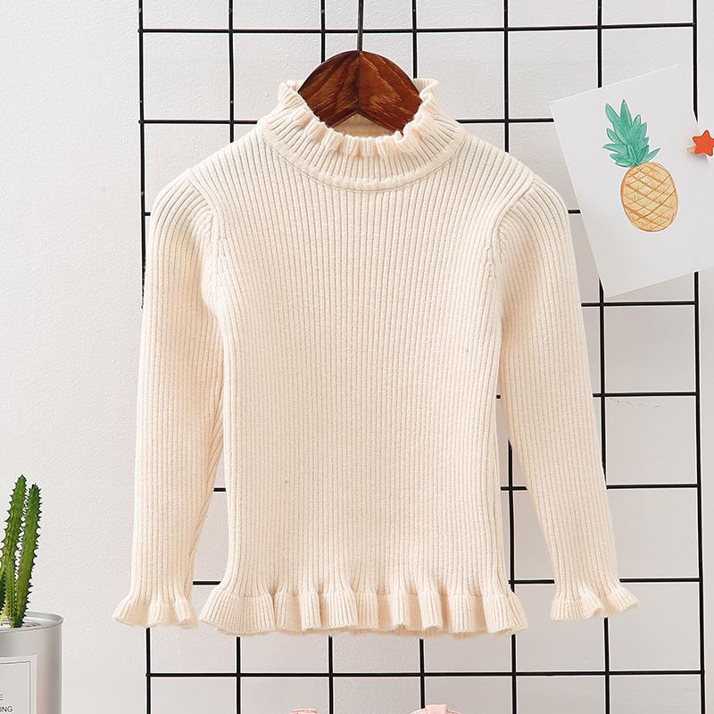 e308e6bedd3a Children S Sweaters Baby Girl Cotton Wool Tops 2019 New Kids Girls ...