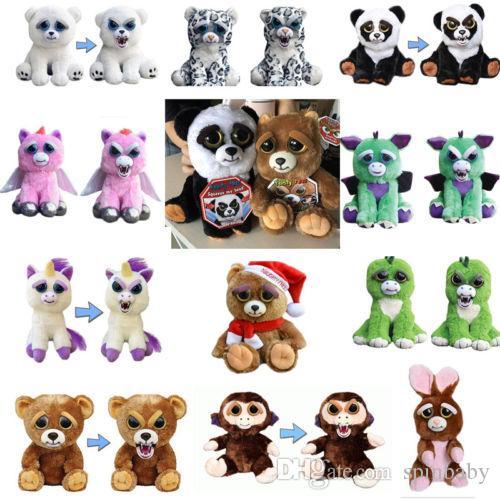 Cara Kid Cambiar Navidad Peluche Face Gift Un Relish Segundo Actitud Scary Pets Animal Con Animales Feisty Toy wOuTXiPZlk