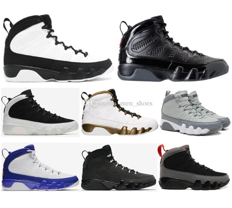 High Quality 9 9s Bred Space Jam La Oreo Basketball Shoes Men Cool Grey  Tour Yellow The Spirit Anthracite Sneakers With Box Discount Shoes Online  Latest ...