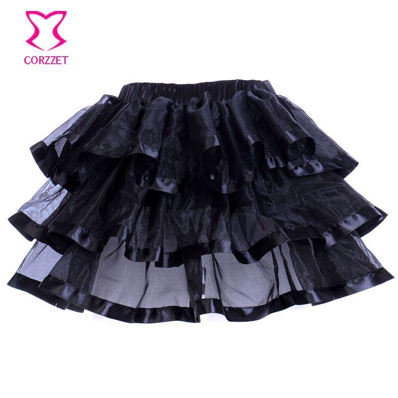 Schwarz Victorian Korsett Rock Gothic Kleidung Steampunk Kleid Lolita Mieder Sexy Korsetts und Bustiers für Frauen Punk Kleider