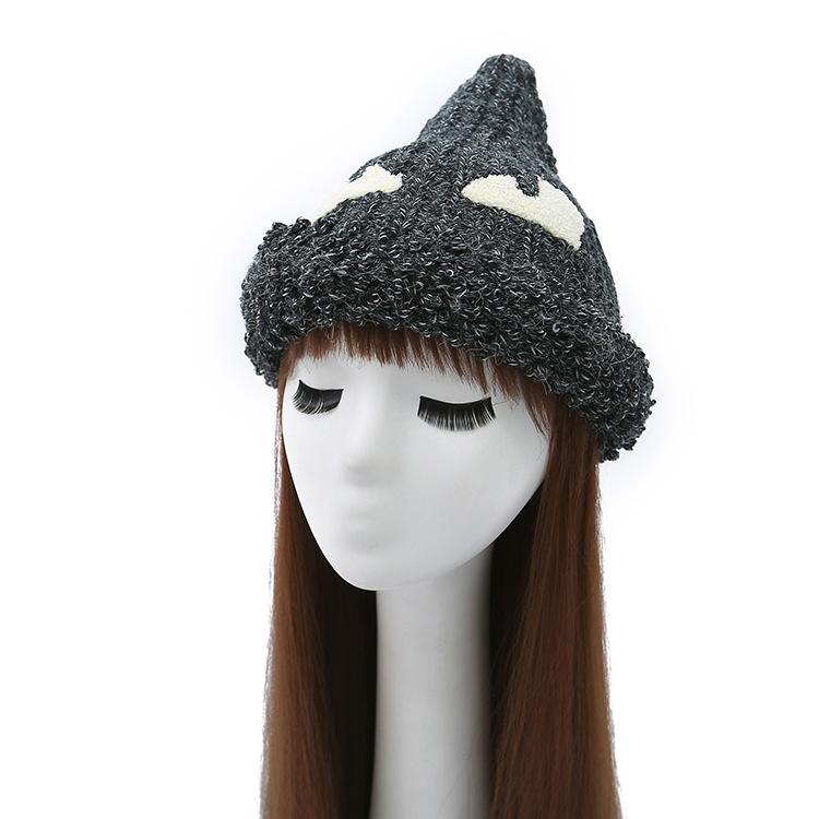New Ladies Outdoor Caps 2018 Winter Classic Brand Cotton Hats Cartoon  Pattern Keep Warm Caps High Quality Fashion Beanie Knit Hat Hats And Caps  From ... 871ae036f29